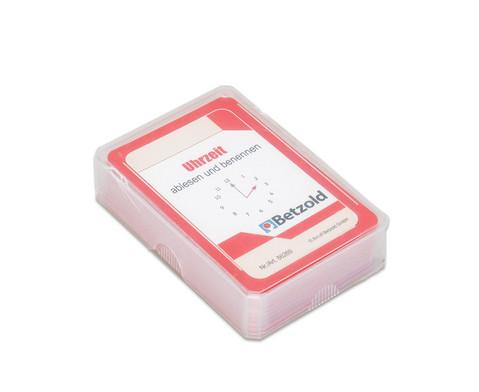Kartensatz fuer den Magischen Zylinder - Uhrzeit ablesen und benennen-2