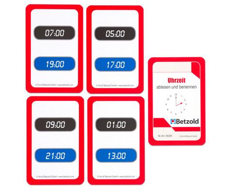 Kartensatz fuer den Magischen Zylinder - Uhrzeit ablesen und benennen-4