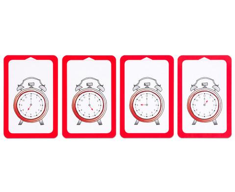 Kartensatz fuer den Magischen Zylinder - Uhrzeit ablesen und benennen-5