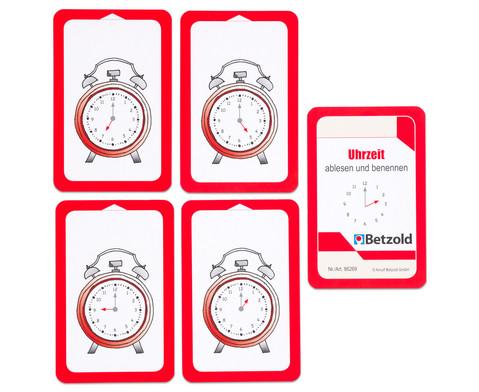 Kartensatz fuer den Magischen Zylinder - Uhrzeit ablesen und benennen-6