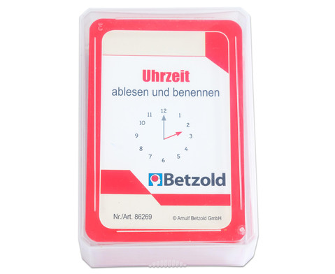 Kartensatz fuer den Magischen Zylinder - Uhrzeit ablesen und benennen-7