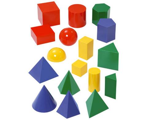 Betzold grosse Geometrie-Koerper 17 Stueck
