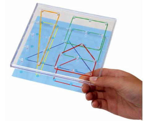 Arbeitskarten fuer transparente Geometriebretter F-2