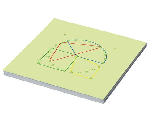 Arbeitskarten fuer Geometriebretter G-3