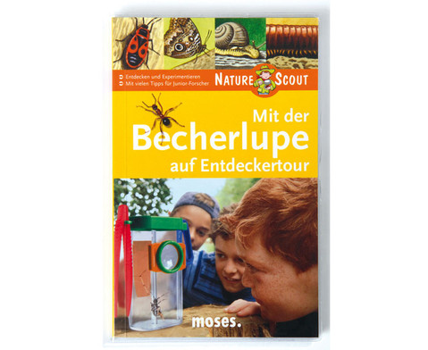 Natur Scout Buch - Mit der Becherlupe auf Entdeckertour-1