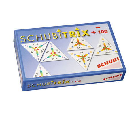 SCHUBITRIX - Subtraktion bis 100-1