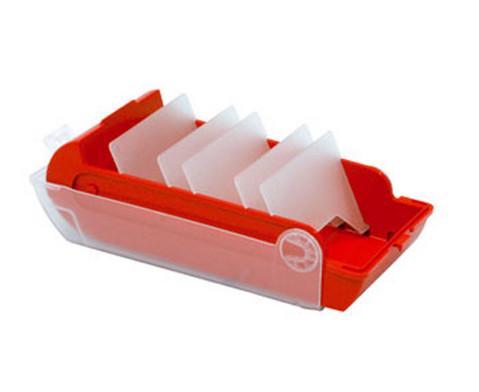Lernkartei-Kasten und Lernkarten-3