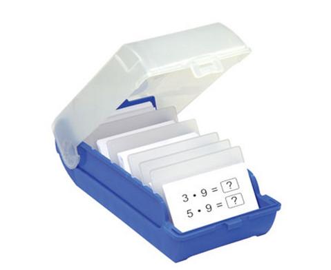 Lernkartei-Kasten und Lernkarten-6