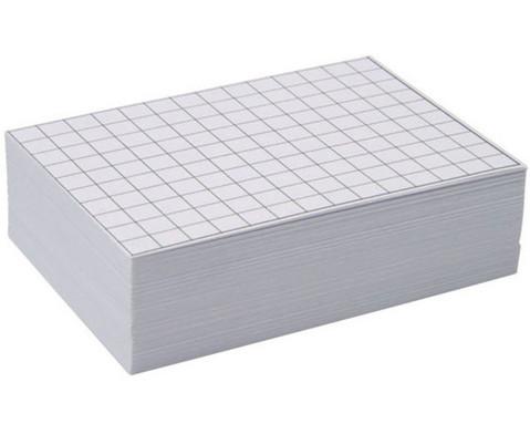 Blanko Karteikarten 100 Stueck DIN A8-2