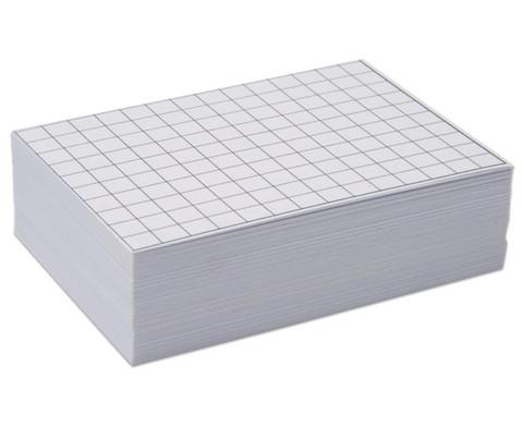 Blanko Karteikarten 100 Stueck DIN A8-1