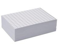Blanko Karteikarten, 100 Stück, DIN A8