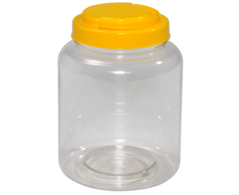 Betzold Material-Behaelter mit gelbem Schraubdeckel
