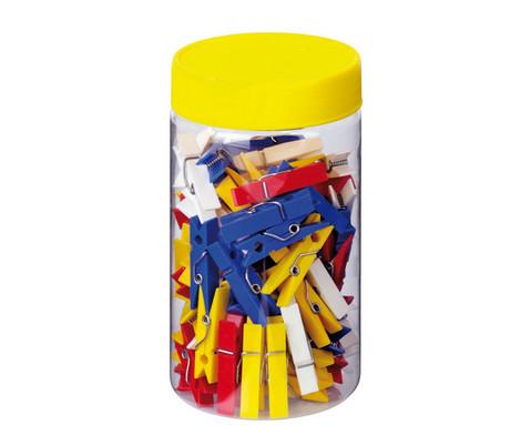 Material-Behaelter mit Schraubdeckel