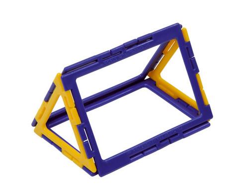 Polydron Prismen- und Pyramiden-Set - Kantenmodelle-2