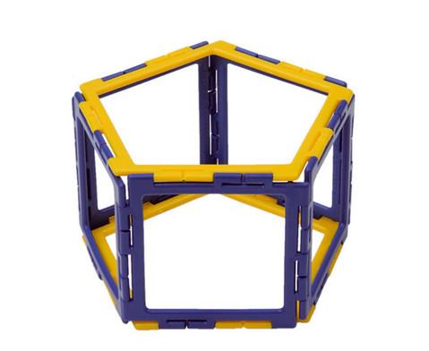 Polydron Prismen- und Pyramiden-Set - Kantenmodelle