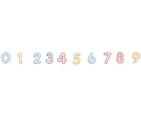 Magnetische Zahlen mit Taschen-1