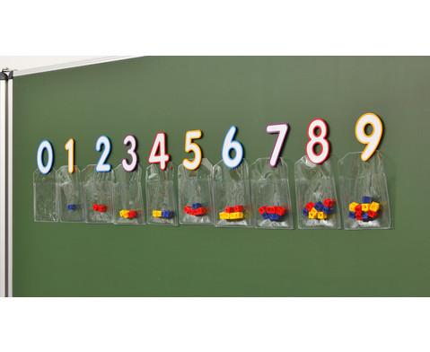 Magnetische Zahlen mit Taschen-5