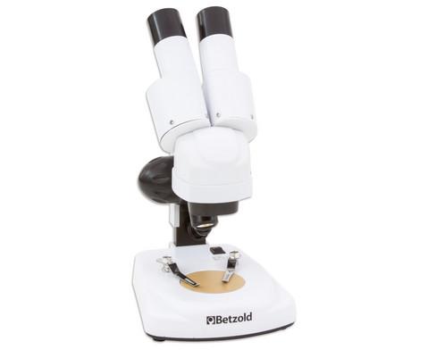 Betzold Stereo-Mikroskop für Einsteiger