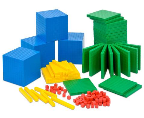 Betzold Systembloecke Zehnerbasis-Satz 184 Teile