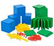 Systemblöcke Dezimalrechnen, 184 Teile
