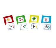 Pocket Cube Karten - Satz 1: Einmaleinsreihen 1-5