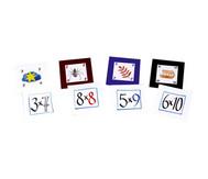 Pocket Cube Karten - Satz 2: Einmaleinsreihen 6 - 10