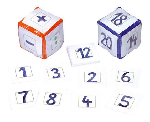 Pocket Cube Karten - Zahlenspiele