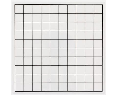 Transparentes Hunderter-Gitter ohne Zahlen-1