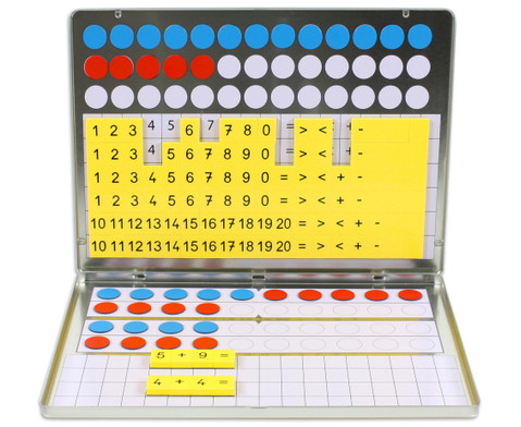 1 2 3  Zahlenzauberei Rechenmagnetbox-4