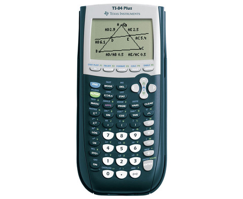 TI-84 plus Grafikrechner