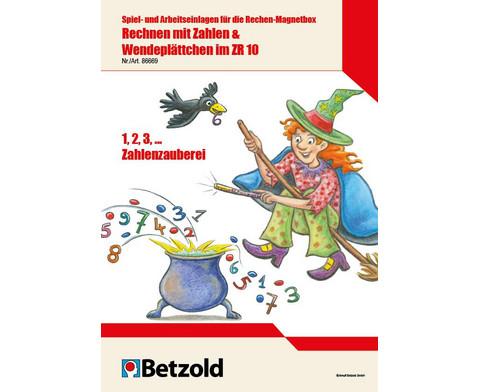 Betzold Band 1 Spiel- und Arbeitseinlagen fuer die Rechen-Magnetbox