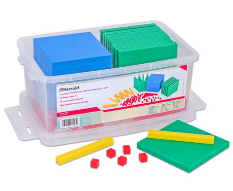Betzold Zehner-Systemsatz aus Kunststoff in Box