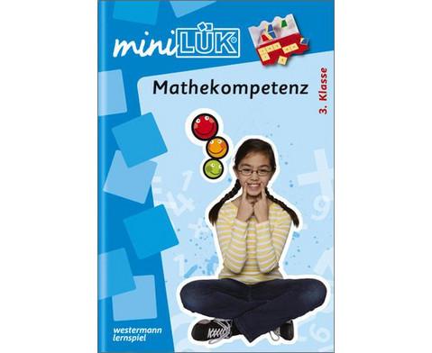 miniLUEK-Heft Mathekompetenz 3 Klasse-1