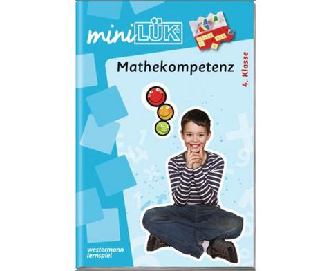 miniLUEK-Heft Mathekompetenz 4 Klasse-1