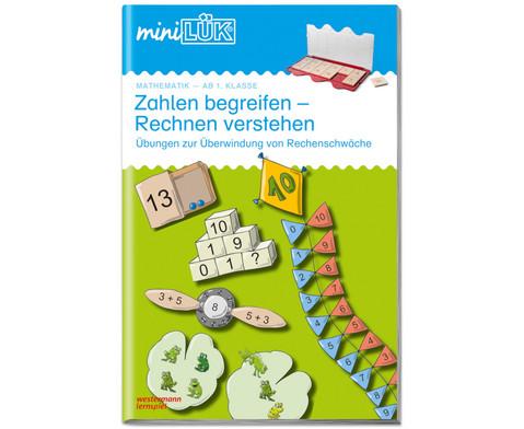 miniLUEK-Heft Zahlen begreifen Rechnen verstehen 1
