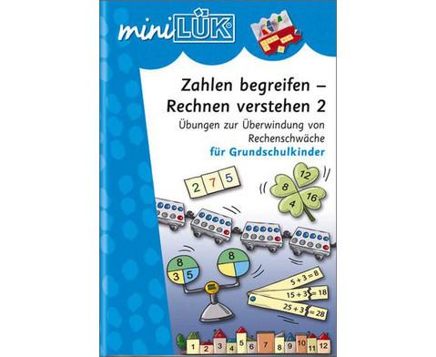 miniLUEK-Heft Zahlen begreifen Rechnen verstehen 2-1