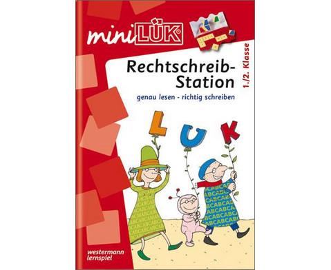miniLUEK-Heft Rechtschreibstation 1 Klasse