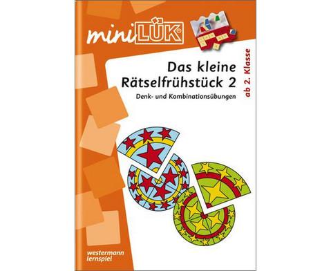 miniLUEK-Heft Kleines Raetselfruehstueck