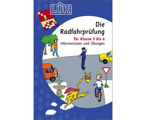 LUEK Die Radfahrpruefung fuer 3- 6 Klasse