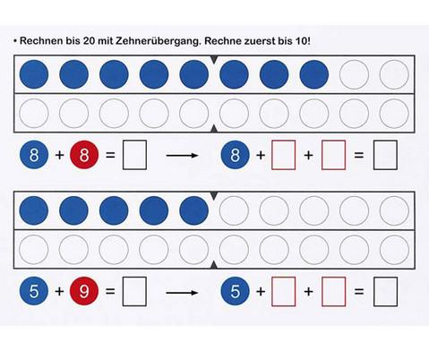 Band 2 Rechnen mit Zahlen und Wendeplaettchen im ZR bis 20