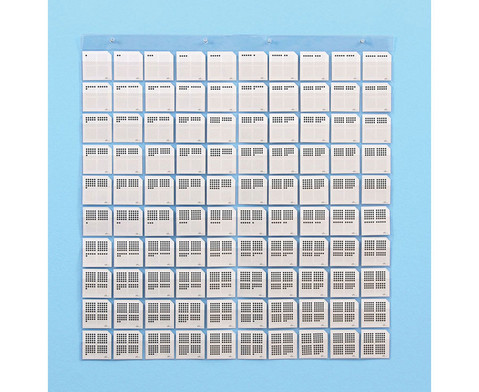 Transparente Stecktafel oder Zubehoer-7