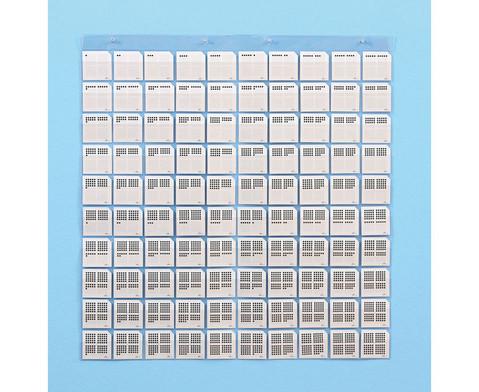 Transparente Stecktafel und Zubehoer-7