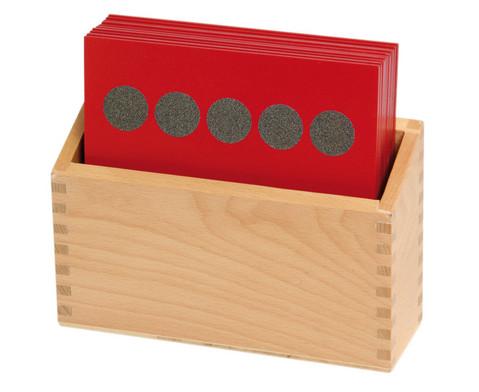 Betzold Sandpapier-Mengenbilder im Holzkasten