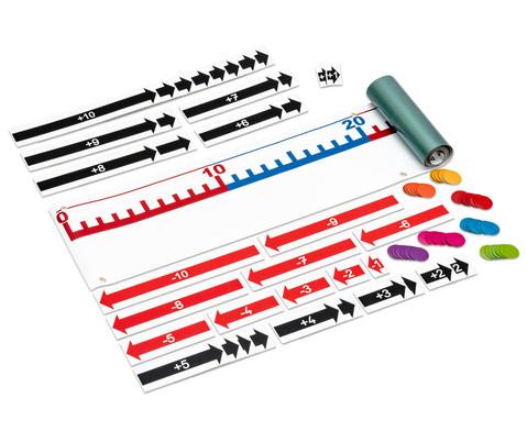 Magnet-Zahlenstrahl von 0 bis 100 mit Zubehoer