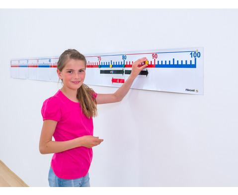 Magnet-Zahlenstrahl von 0 bis 100 mit Zubehoer-2