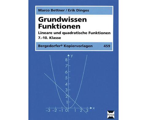 Grundwissen Funktionen Lineare und quadratische Funktionen-1