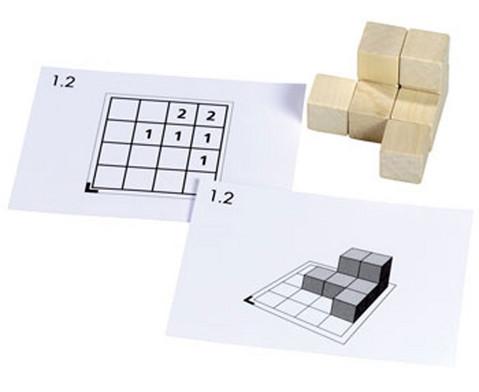 Cubo Kartensaetze 1 - 5 ohne Holzwuerfel
