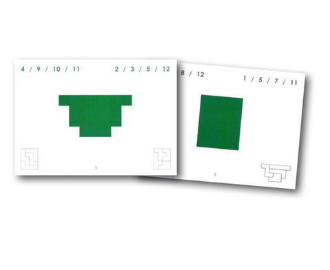 Pentomino-Arbeitskarten Satz 3
