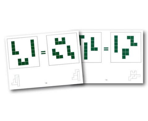 Pentomino-Arbeitskarten Satz 4-1
