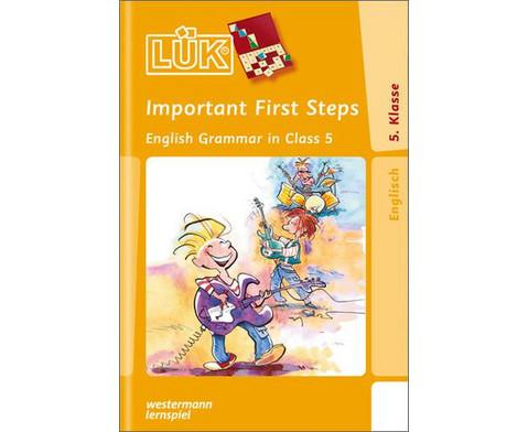 LUEK Important First Steps ab 5 Klasse-1